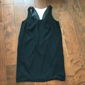 Uniqlo x Shipley & Halmos Black white dress Sz XS